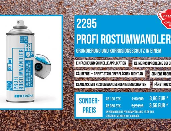 2295 Profi Rostumwandler 400ml