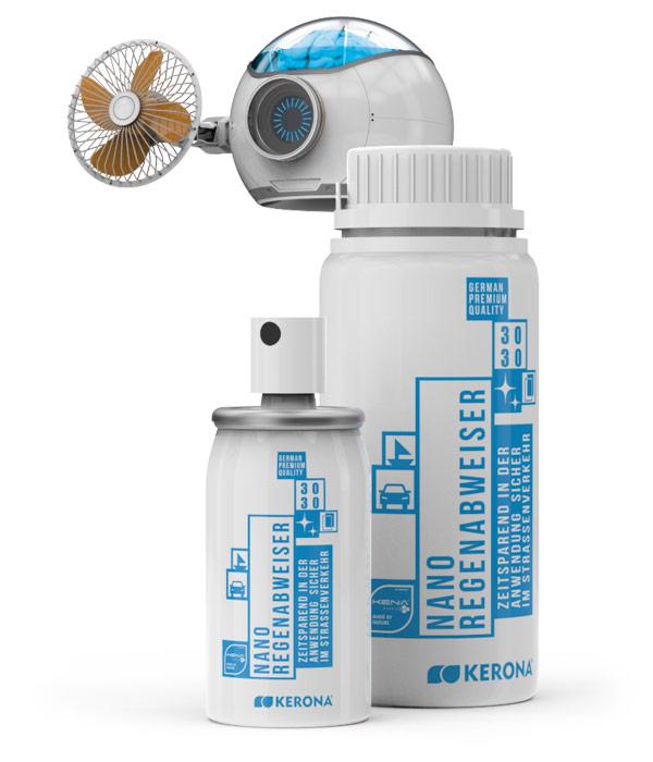 3030 Nano-Regenabweiser